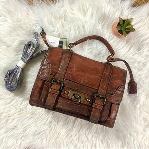 Brand New brown leather handbag